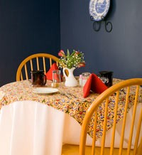 Brewster House B&B dining room