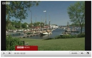 BBC News video of Maine Tourism and Brewster House B&B