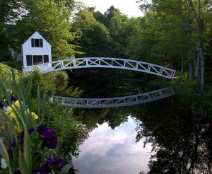 Somesville Bridge, Mount Desert Island, Maine