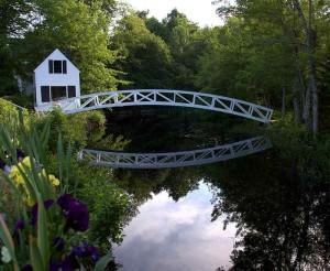 Somesville Bridge, Mount Desert Island, Maine