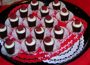 Chocolate Raspberry Clouds, from Flavors of Freeport, 2009