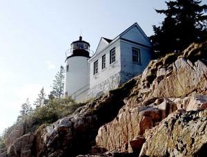 Bass Harbor Head Lighthouse Maine