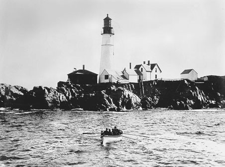 Portland Head Lighthouse, prior to 1891