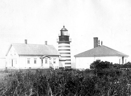 West Quoddy Head Light, courtesy US Coast Guard