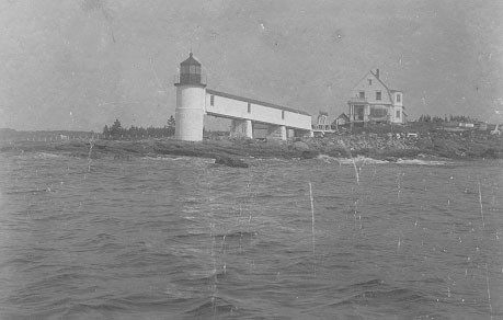 Marshall Point Lighthouse with new keepers quarters, courtesy U.S. Coast Guard