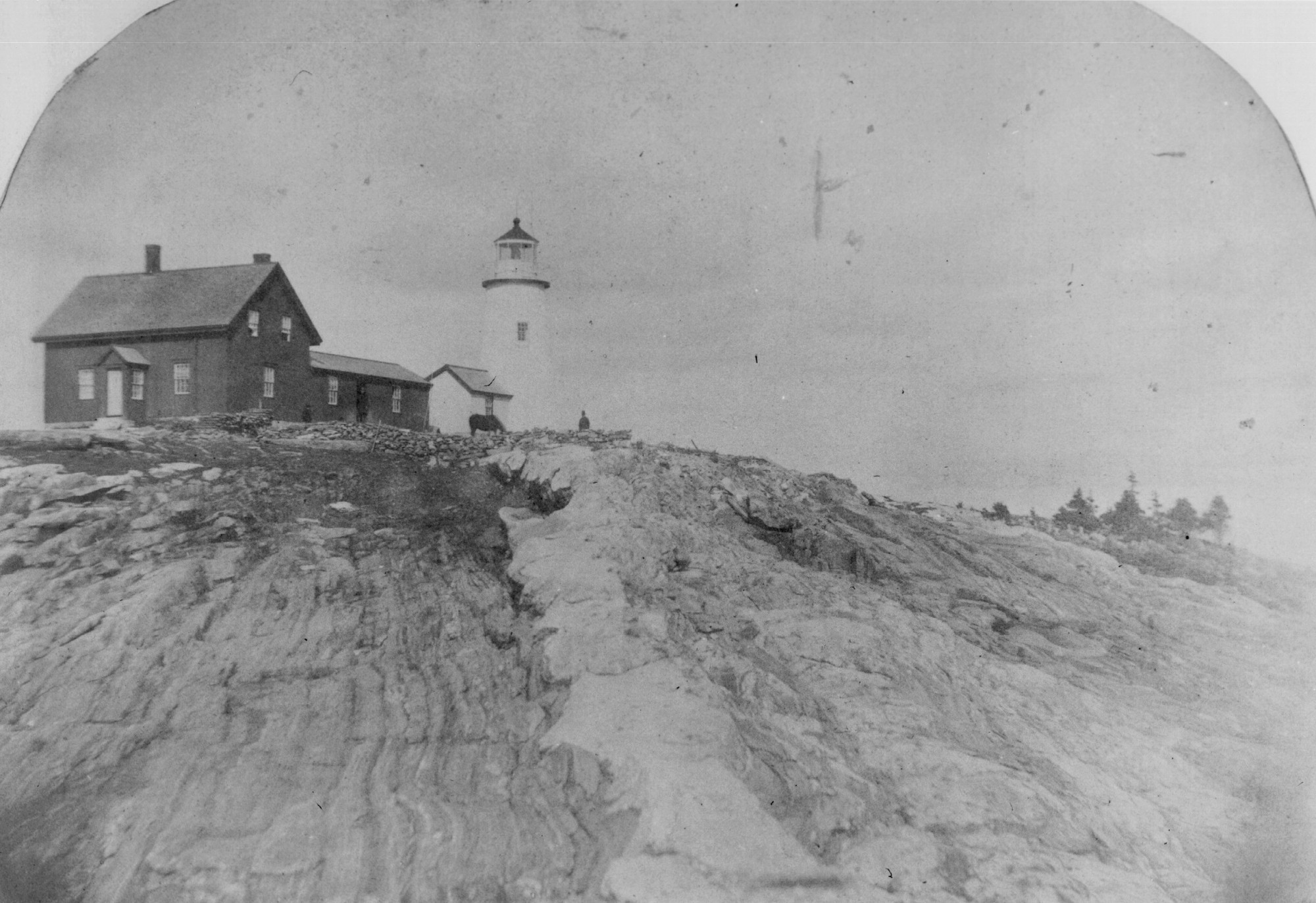 Pemaquid Point Lighthouse, late 1800's