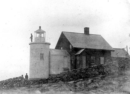 Tenants Harbor Light, photo courtesy US Coast Guard
