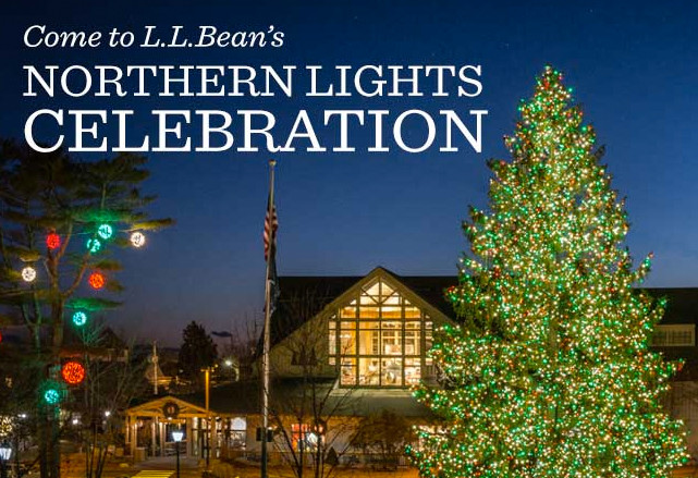 The L L Bean Northern Lights Celebration