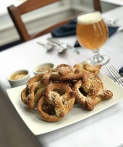 Pretzel making & beer pairing