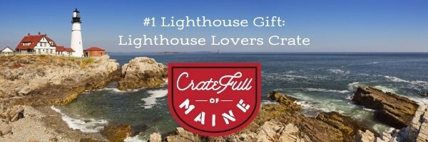 Maine Lighthouse Giftbasket